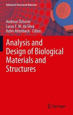 Analysis and Design of Biological Materials and Structures (eBook, PDF)