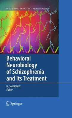 Behavioral Neurobiology of Schizophrenia and Its Treatment (eBook, PDF)