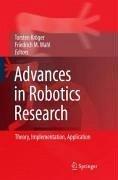Advances in Robotics Research (eBook, PDF)