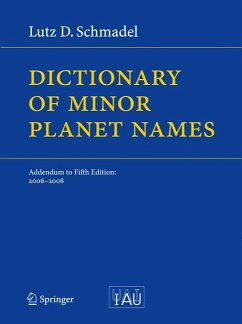 Dictionary of Minor Planet Names (eBook, PDF) - Schmadel, Lutz D.
