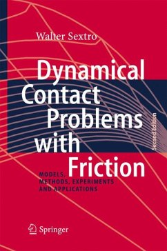 Dynamical Contact Problems with Friction (eBook, PDF) - Sextro, Walter