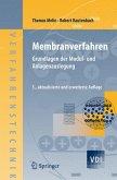 Membranverfahren (eBook, PDF)
