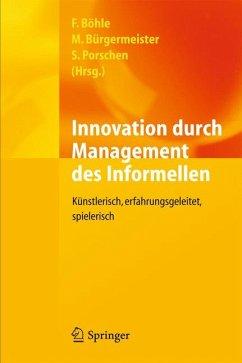 Innovation durch Management des Informellen (eBook, PDF)