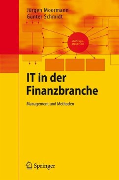 IT in der Finanzbranche (eBook, PDF) - Moormann, Jürgen; Schmidt, Günter