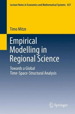Empirical Modelling in Regional Science (eBook, PDF) - Mitze, Timo