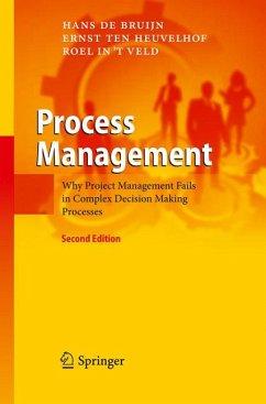 Process Management (eBook, PDF) - in 't Veld, Roel; Bruijn, Hans de; Ten Heuvelhof, Ernst