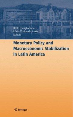 Monetary Policy and Macroeconomic Stabilization in Latin America (eBook, PDF)