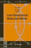 Low-Dimensional Molecular Metals (eBook, PDF)
