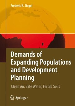 Demands of Expanding Populations and Development Planning (eBook, PDF) - Siegel, Frederic R.