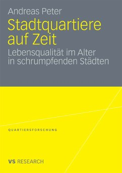 Stadtquartiere auf Zeit (eBook, PDF) - Peter, Andreas