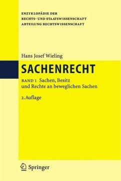 Sachenrecht (eBook, PDF) - Wieling, Hans Josef