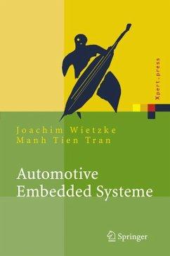 Automotive Embedded Systeme (eBook, PDF) - Wietzke, Joachim; Tran, Manh Tien