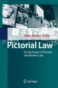 Pictorial Law (eBook, PDF) - Boehme-Neßler, Volker