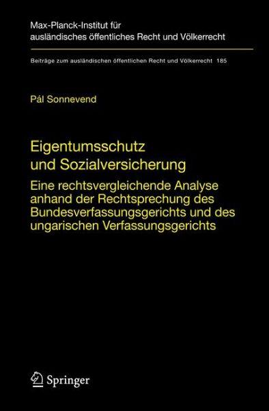 eigentumsschutz und sozialversicherung sonnevend pl