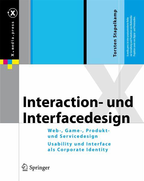 Interaction Und Interfacedesign Ebook Pdf Von Torsten Stapelkamp