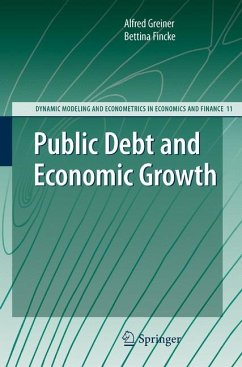 Public Debt and Economic Growth (eBook, PDF) - Greiner, Alfred; Fincke, Bettina