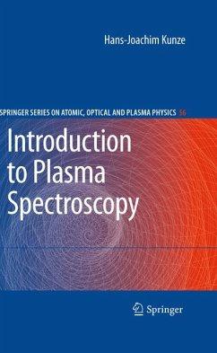 Introduction to Plasma Spectroscopy (eBook, PDF) - Kunze, Hans-Joachim