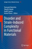 Disorder and Strain-Induced Complexity in Functional Materials (eBook, PDF)