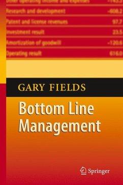 Bottom Line Management (eBook, PDF) - Fields, Gary