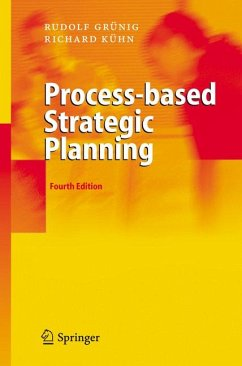 Process-based Strategic Planning (eBook, PDF) - Gaggl, Richard; Grünig, Rudolf