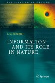 Information and Its Role in Nature (eBook, PDF)
