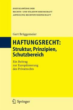 Haftungsrecht (eBook, PDF) - Brüggemeier, Gert