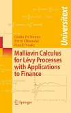 Malliavin Calculus for Lévy Processes with Applications to Finance (eBook, PDF)