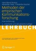 Methoden der empirischen Kommunikationsforschung (eBook, PDF)