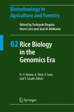 Rice Biology in the Genomics Era (eBook, PDF)