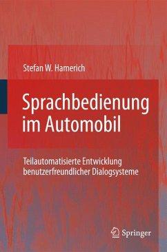 Sprachbedienung im Automobil (eBook, PDF) - Hamerich, Stefan