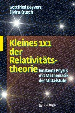 Kleines 1x1 der Relativitätstheorie (eBook, PDF) - Beyvers, Gottfried; Rosenbaum, Elvira