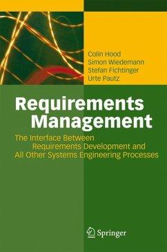 Requirements Management (eBook, PDF) - Fichtinger, Stefan; Hood, Colin; Pautz, Urte; Wiedemann, Simon