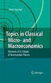 Topics in Classical Micro- and Macroeconomics (eBook, PDF)