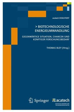Biotechnologische Energieumwandlung (eBook, PDF)