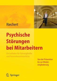 Psychische Störungen bei Mitarbeitern (eBook, PDF) - Riechert, Ina