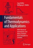 Fundamentals of Thermodynamics and Applications (eBook, PDF)