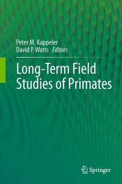 Long-Term Field Studies of Primates (eBook, PDF)