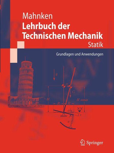 Lehrbuch der technischen mechanik statik ebook pdf for Statik skript pdf