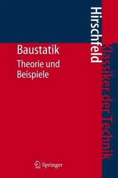 Baustatik (eBook, PDF) - Hirschfeld, Kurt