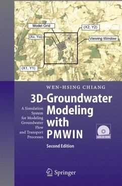 3D-Groundwater Modeling with PMWIN (eBook, PDF) - Chiang, Wen-Hsing