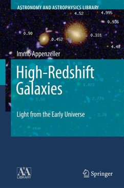 High-Redshift Galaxies (eBook, PDF) - Appenzeller, Immo