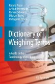 Dictionary of Weighing Terms (eBook, PDF)