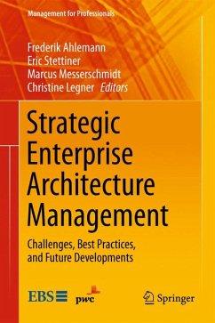 Strategic Enterprise Architecture Management (eBook, PDF)