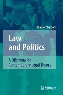 Law and Politics (eBook, PDF) - Zamboni, Mauro