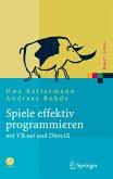 Spiele effektiv programmieren mit VB.net und DirectX (eBook, PDF)