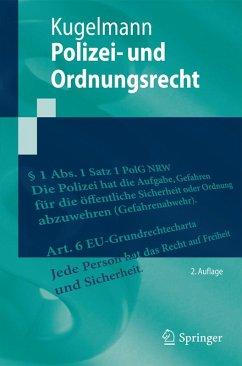 Polizei- und Ordnungsrecht (eBook, PDF) - Kugelmann, Dieter