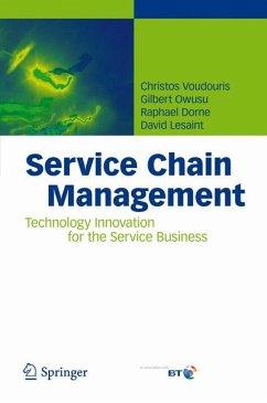 Service Chain Management (eBook, PDF) - Voudouris, Christos; Owusu, Gilbert; Dorne, Raphael; Lesaint, David