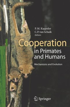 Cooperation in Primates and Humans (eBook, PDF)