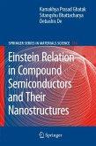 Einstein Relation in Compound Semiconductors and Their Nanostructures (eBook, PDF)