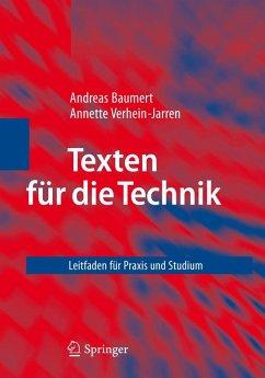 Texten für die Technik (eBook, PDF) - Baumert, Andreas; Verhein-Jarren, Annette